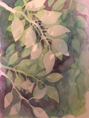 Painting by Kathie Domenico