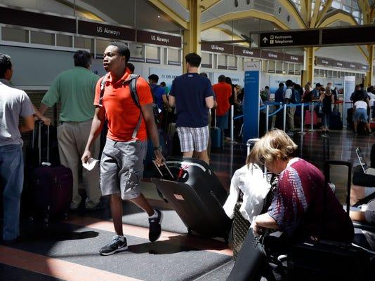 AP FLIGHT CONTROL DELAYS A USA DC