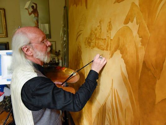 Artist Charles Kapsner 156