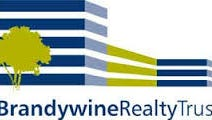Brandywine Realty Trust logo. The company sold a development parcel in Wilmington.