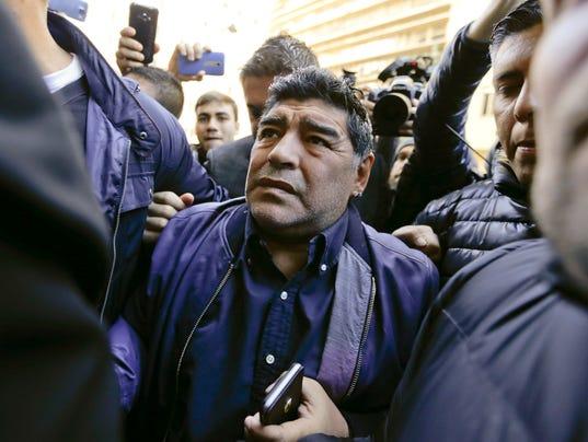 maradona entrenador argentina