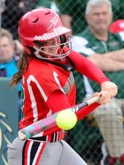 Oak Harbor right fielder Emma Bergman was a first-team