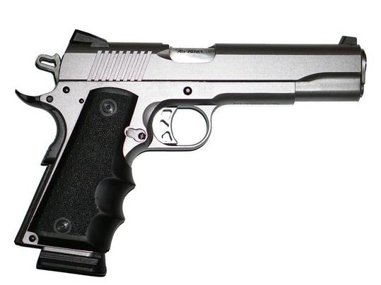 Stainless Steel Pistol Hand Gun 1911 45 ACP