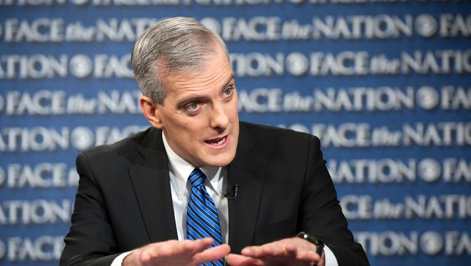 White House chief of staff Denis McDonough is leading outreach to GOP senators on fiscal issues.