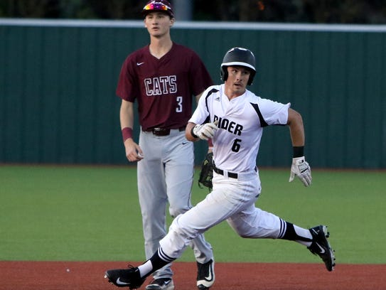 Rider's Deven Smith is a member of the Red River Diamond