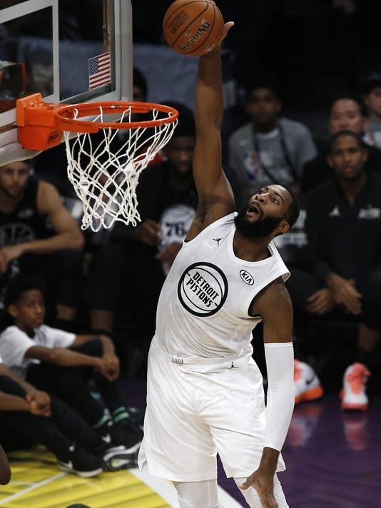 cheap for discount 2654d 4cd77 Andre Drummond scores 14 in Team LeBron s All-Star win