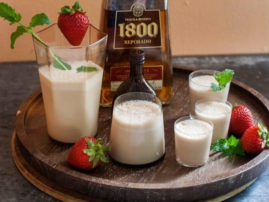 Texas tequila milkshake