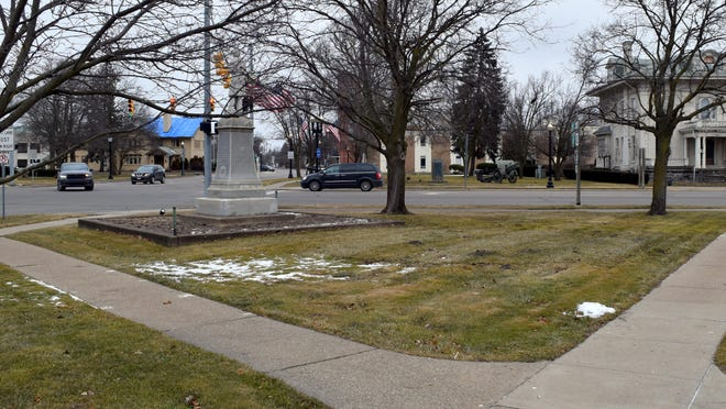 Coldwater has requested bids to rebuild the east side of Four Corners Park as part of an eight-year-old effort to redo the 1972 design.