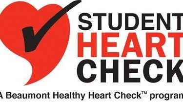 Beaumont's Student Heart Health Program logo.