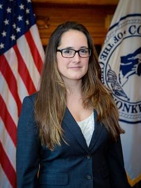 Heliana Higbie was appointed Yonkers' director of sustainability on Nov. 23, 2015.