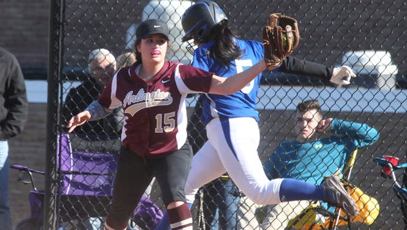 Arlington softball beat Mahopac 7-2 at Mahopac April