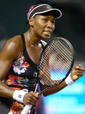 Venus Williams defeats Eugenie Bouchard of Canada to reach the semifinals of the Pan Pacific Open.