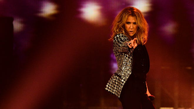 Superstar singer Celine Dion, facing surgery to deal with an ear condition, Wednesday announced cancellation of some upcoming concerts in Las Vegas.