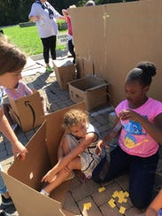 Kalia Brown, right, wants to be an architect or an