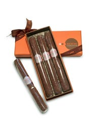 Chocolate cigars from Sook Pastry.