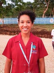 Ariana Adolphson, Team Guam doctor
