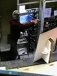 State police released photos of the man who robbed