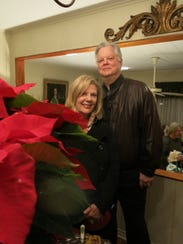 """Debbie and Bill Hall were regulars at """"Drop By"""", including the most recent one  celebrating the life of their good friend, the late Karen Bryant."""