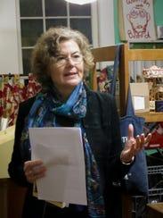 Poet Ashley Mace Havird reads poetry in November at