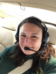 Jennifer Kleitch, a DNR wildlife biologist, is one