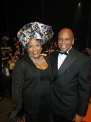 Debra and Greg Bradley at Maskhara Bal.