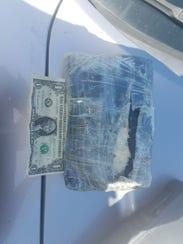 Cocoa Beach police said cocaine was found on the beach