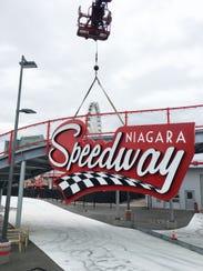 Niagara Speedway sign