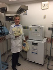 Lourdes Hospital is home to a milk depot serving the