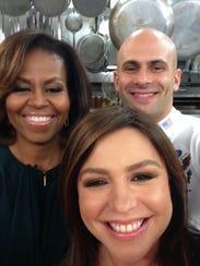 Michelle Obama Rachael Ray selfie