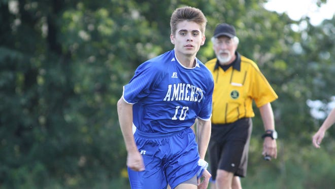 Luke Wright has helped the Amherst/Iola-Scandinavia/Rosholt boys soccer team excel in just its third year of varsity play.