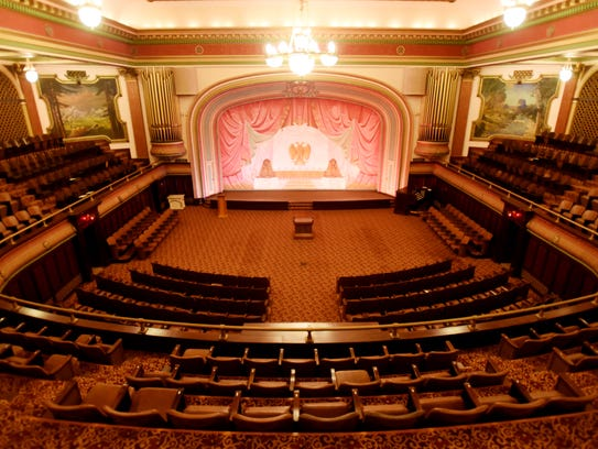 The theater inside the Scottish Rite Temple is a new