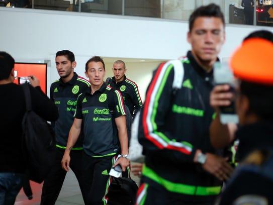 Futbolistas de la Selección Mexicana como Jesús Corona