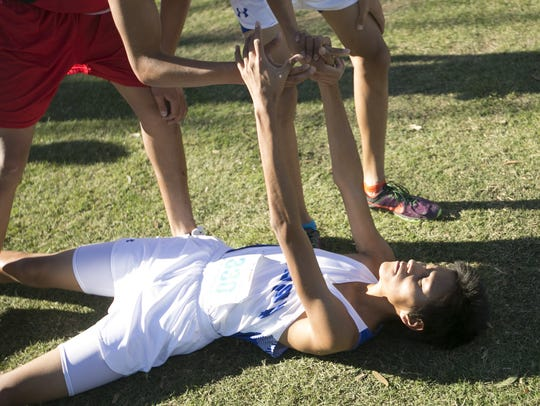 Hopi High's boys cross country team has won 27 straight