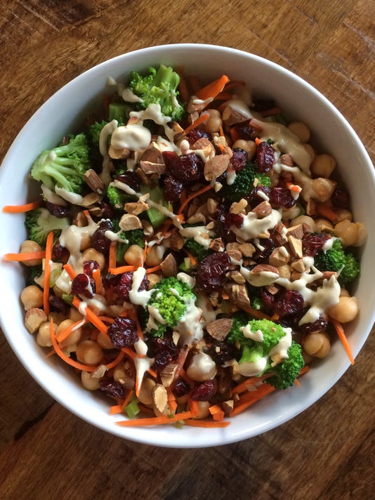 tallgrass30-Tahini Broccoli Salad