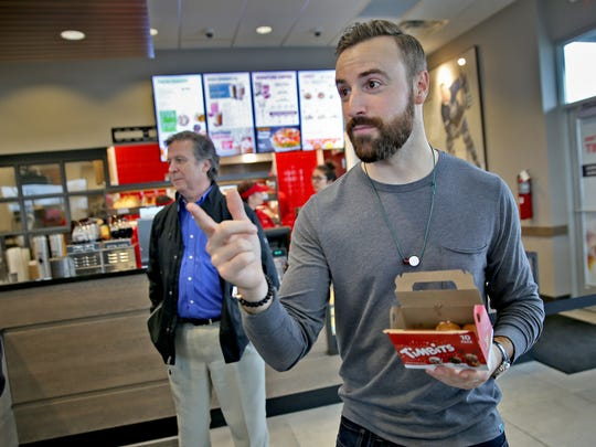 Indy Car driver James Hinchcliffe talks about and shares