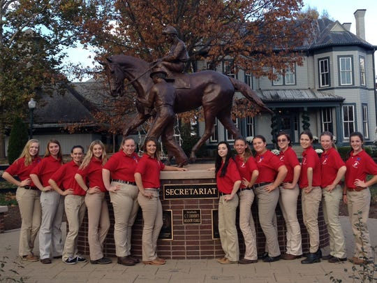 Thirteen New Jersey 4-H horse project members competed