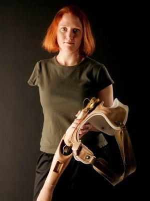 Lt. Dawn Halfaker lost her right arm to a rocket-propelled-grenade attack in Iraq in 2004.