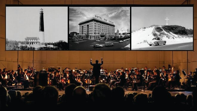 """This image provided by Westwater Arts simulates the """"symphonic photochoreography"""" that will be showcased in the Pensacola Symphony Orchestra's November concert. Local photographers are encouraged to submit their images."""
