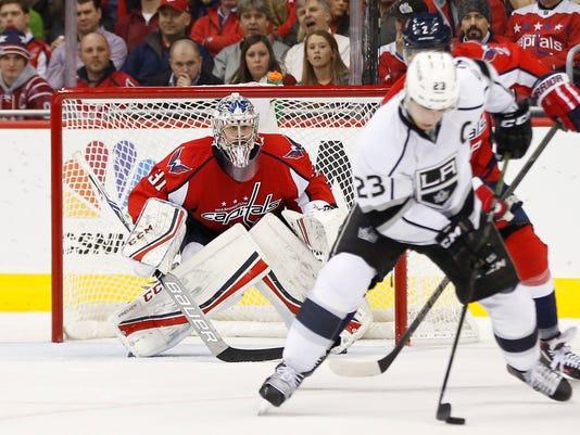 USP NHL: LOS ANGELES KINGS AT WASHINGTON CAPITALS S HKN USA DC