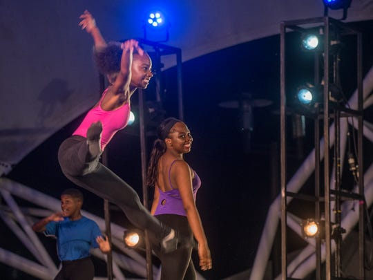 The Alabama Dance Theatre presented Stars on the Riverfront on July 29 ad 30, two days of free ballet at Montgomery's Riverwalk Amphitheater.