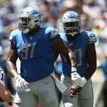 Detroit Lions' A'Shawn Robinson shows he's the batted ball king vs. Colts