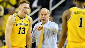 Michigan remained at No. 5 in this week's Associated Press Top 25