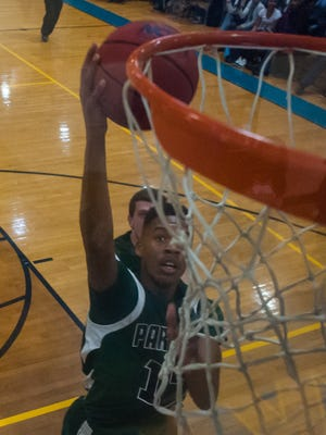 PLAY OF THE WEEK: Parkside forward Colen Gaynor goes for a lay up against Wicomico on Tuesday.