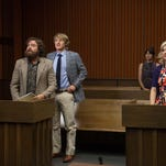 "Zach Galifianakis, Owen Wilson and Amy Poehler in ""Are You Here."""