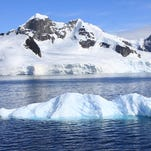 """""""Antarctica's melange of snow-covered mountains, icebergs, black volcanic sand beaches and pristine bays can best be described as both breathtaking and majestic,"""" said local traveler Julian McPhillips."""