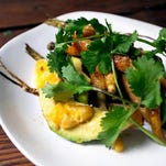A simple but delicious take on a roasted root vegetable salad.