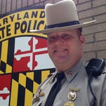 Senior Trooper Marlin Myers was selected as the 2013 Trooper of the Year.