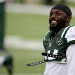 Jets wide receiver Santonio Holmes may have given the Panthers' defense some bulletin board material with his comments about their secondary.