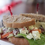 The chicken salad sandwich is a favorite at the new Cordelia's Bakery Cafe on Clinton Street in Delaware City.