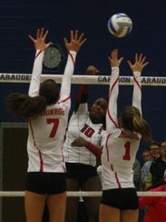 Churchill senior Rayna Yetts led the Chargers with